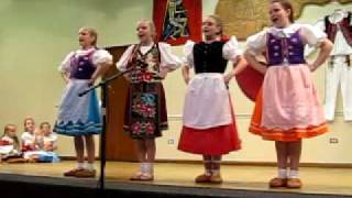 Veselicka Children at Slovak Fest Chicago 2010
