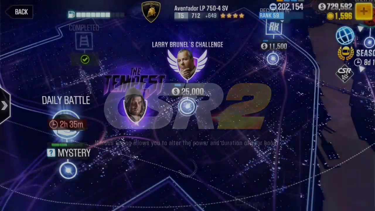 T5 Boss CSR2! Beating TEMPEST and getting Larry's GTA Spano!