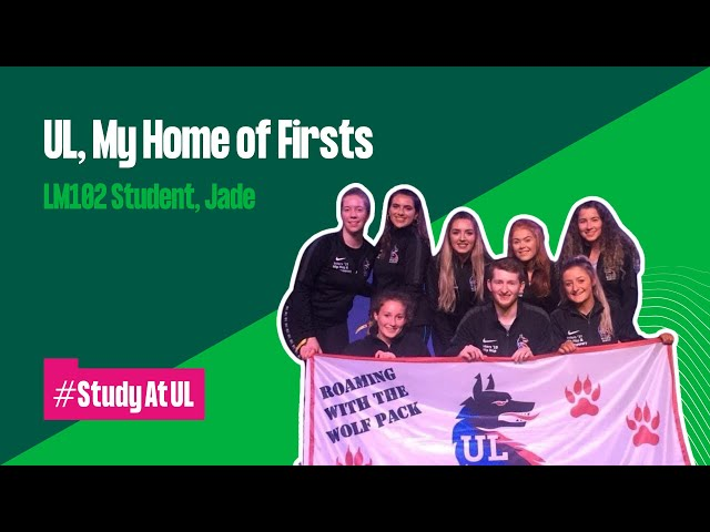 VLOG: UL, My Home of Firsts - LM102 Student, Jade