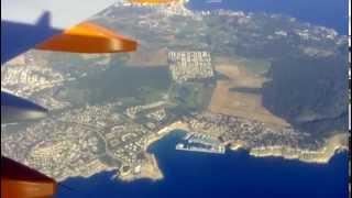 Flug Fly Palma Mallorca to Hamburg November 2015