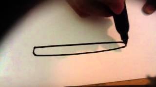 How to draw a Toothbrush - Easy Things to Draw
