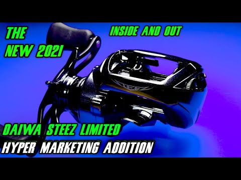 NEW 2021 Daiwa STEEZ Limited SV TW -- BOOST!  Is it just a 2016 Steez SV TWS with a spool and paint?