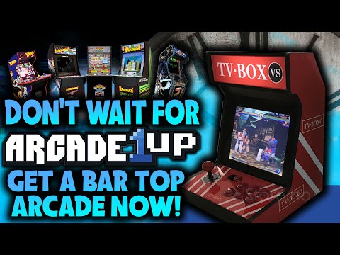 Don't Wait for Arcade1Up..Get a Counter Arcade NOW!!!