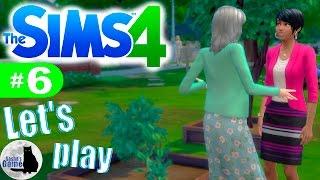 The Sims 4 #6 Разговор с Жасмин / Фруктон посажен!