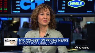 Expert: Prices will go up for Uber, Lyft with NYC's congestion pricing
