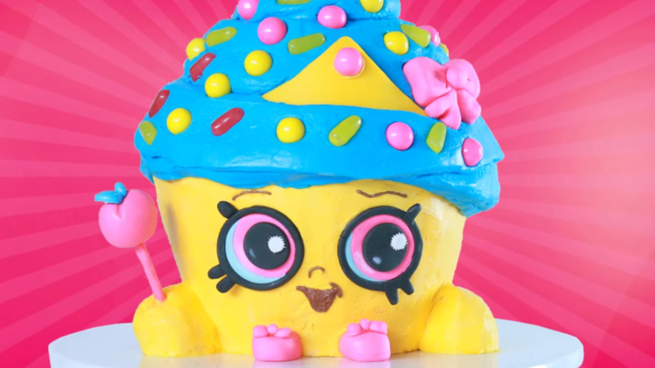 Shopkins Cupcake Queen Cake Nerdy Nummies Youtube