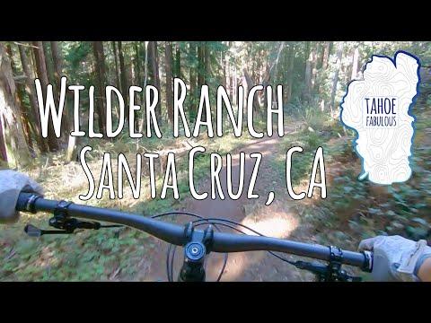 Riding The Santa Cruz Megatower At Wilder Ranch State Park