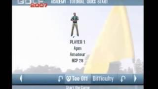 Real World Golf 2007, a quick l@@k, Part 1