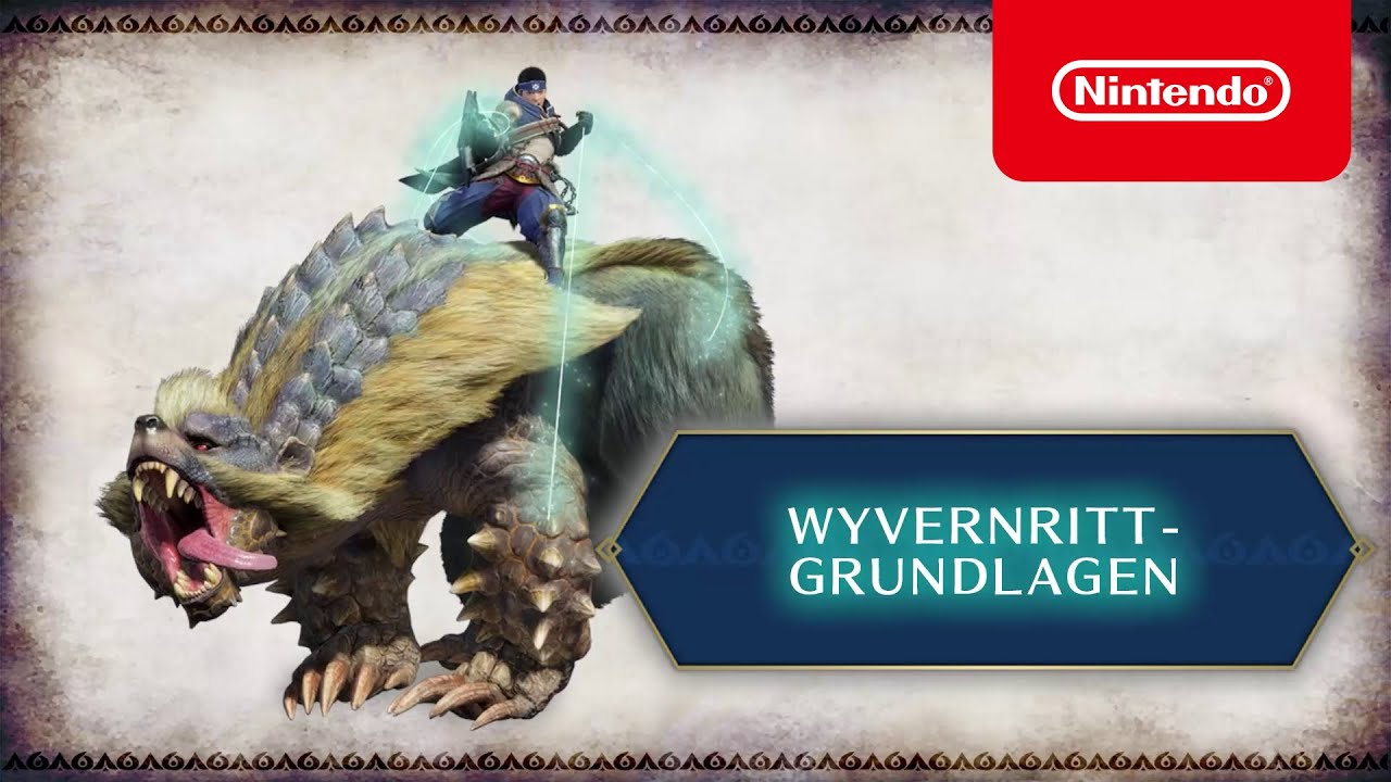 MONSTER HUNTER RISE — Wyvernritt-Grundlagen (Nintendo Switch)