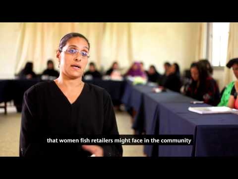 Theatre workshops help Egyptian women fish retailers lobby f