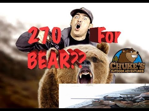 .270 Winchester For Everything In Alaska: Including Big Bears??