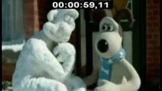 Wallace y gromit - el hombre de nieve (versión en español)