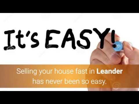 We Buy Houses Leander | Sell House Fast Leander | 512-825-2525