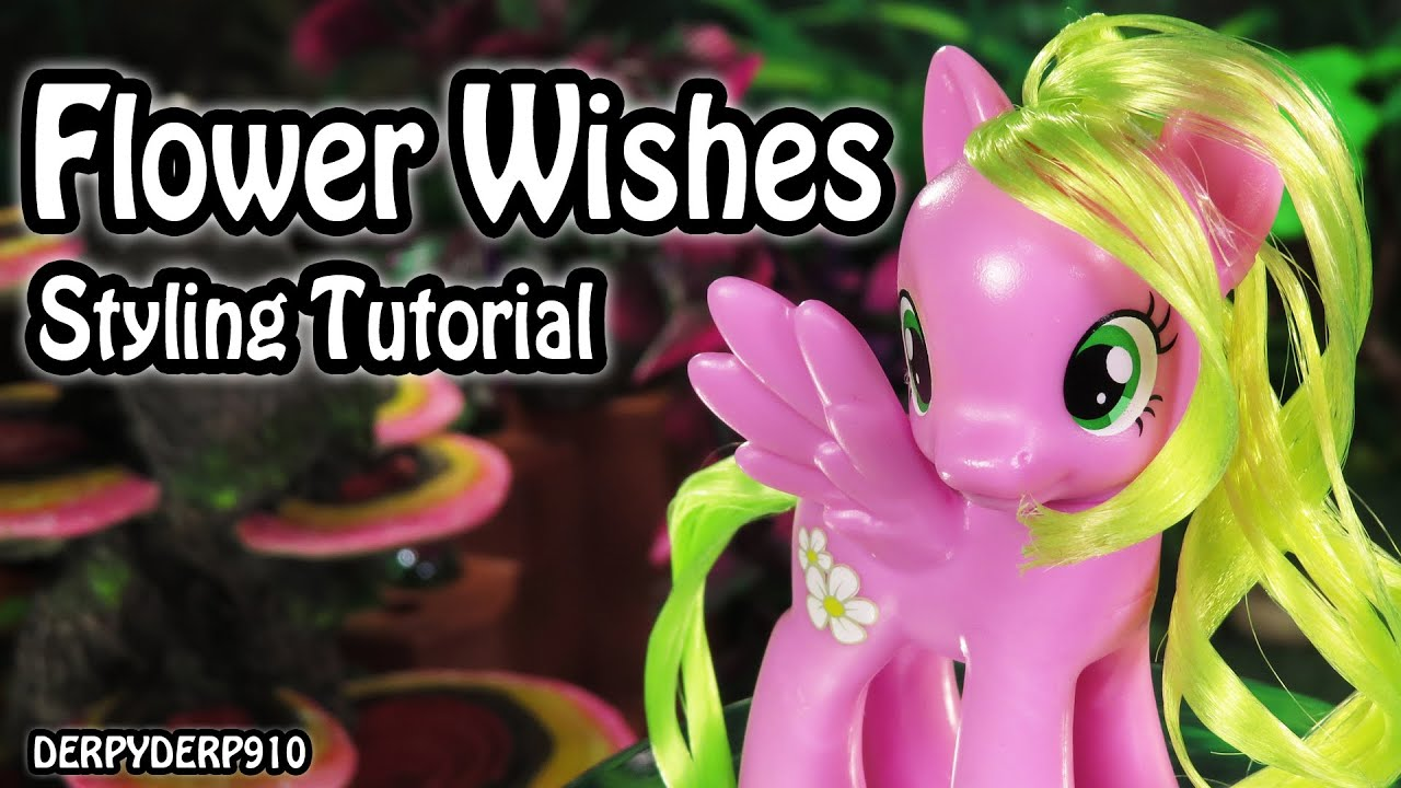 My little pony flower wishes daisy cutie mark magic hair styling my little pony flower wishes daisy cutie mark magic hair styling tutorial mlp youtube mightylinksfo