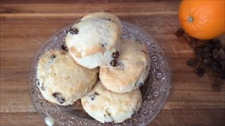 Newfie Orange Raisin Tea Buns - Rise Wine & Dine - Episode 19