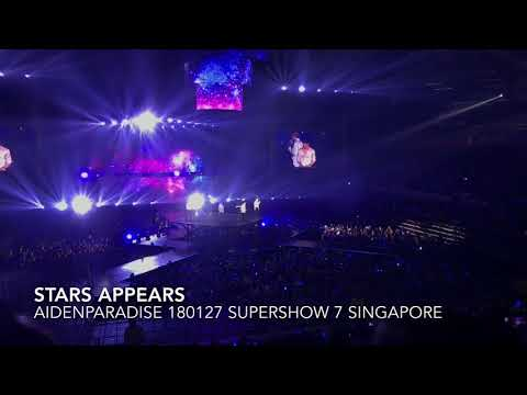 180127 SUPERSHOW 7 SINGAPORE STARS APPEARS