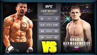 UFC БОЙ Юрий Бойка vs Хабиб Нурмагомедов (com.vs com.)