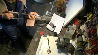 alimentation alternateur en moteur brushless par une seule batterie avec un abaisseur de tension