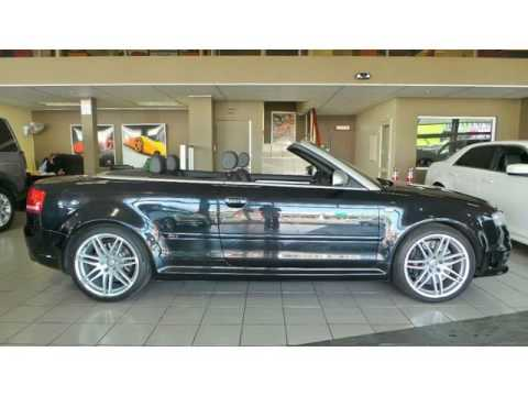 2007 AUDI RS4 Convertible Auto For Sale On Auto Trader South