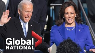 Global National: Jan. 20, 2021 | Joe Biden, Kamala Harris sworn in at peaceful inauguration