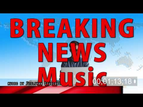 Breaking News Music (5 Background Tracks ) newscast background opening intro to news or event