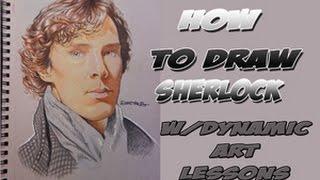 HOW TO DRAW SHERLOCK