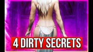 Skyrim 4 Secret BUT Dirty Characters Who are All Sleeping Together