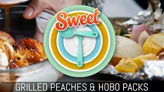 Sweet T Show: Grilled Peaches And Hobo Packs
