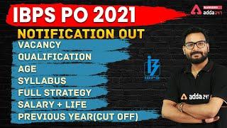 IBPS PO 2021   Notification, Vacancy, Syllabus, Salary, Preparation   Full Detailed Information