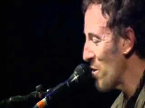 Bruce Springsteen Barcelona 2003 Spirit in the night