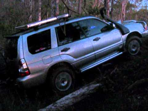 Subaru Forester Off Road >> Off Road Subaru Forester Crossing Creek Bed 3 - YouTube