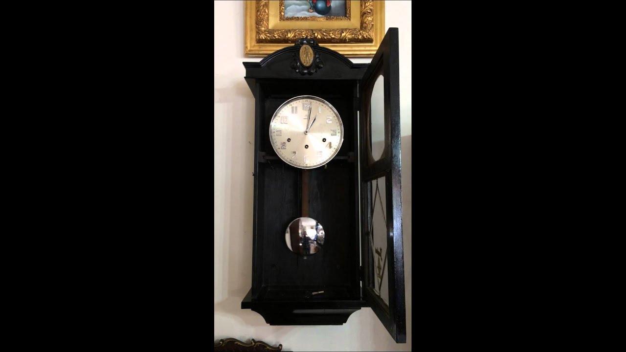 Soneria de reloj de pared antiguo junghans himno - Relojes de pared ...
