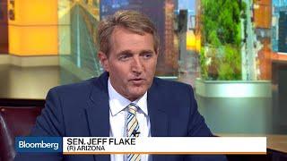 Sen. Flake on Health Care, Trade, Tax Reform