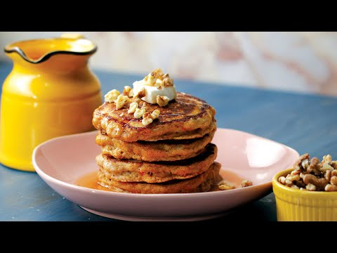 Spice Up Your Brunch with Carrot Cake Pancakes • Tasty