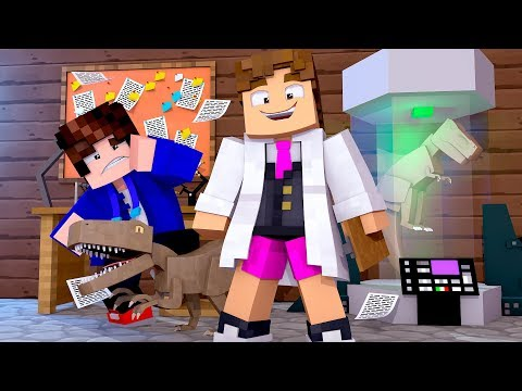 Minecraft - CRIANDO DINOSSAUROS ! - JURASSIC PARK Ep 3  ‹ LOKI ›