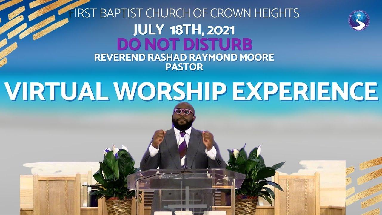 July 18th, 2021: Sunday Morning Service