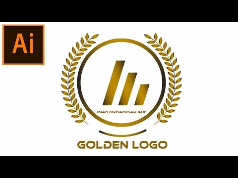 Create a Gradient Logo in Adobe Illustrator Tutorial | 06 thumbnail
