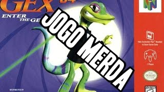 jogo merda gex enter the gecko for nintendo 64