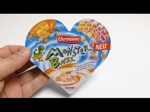 MONSTER BACKE - Marshmallow Yogurt