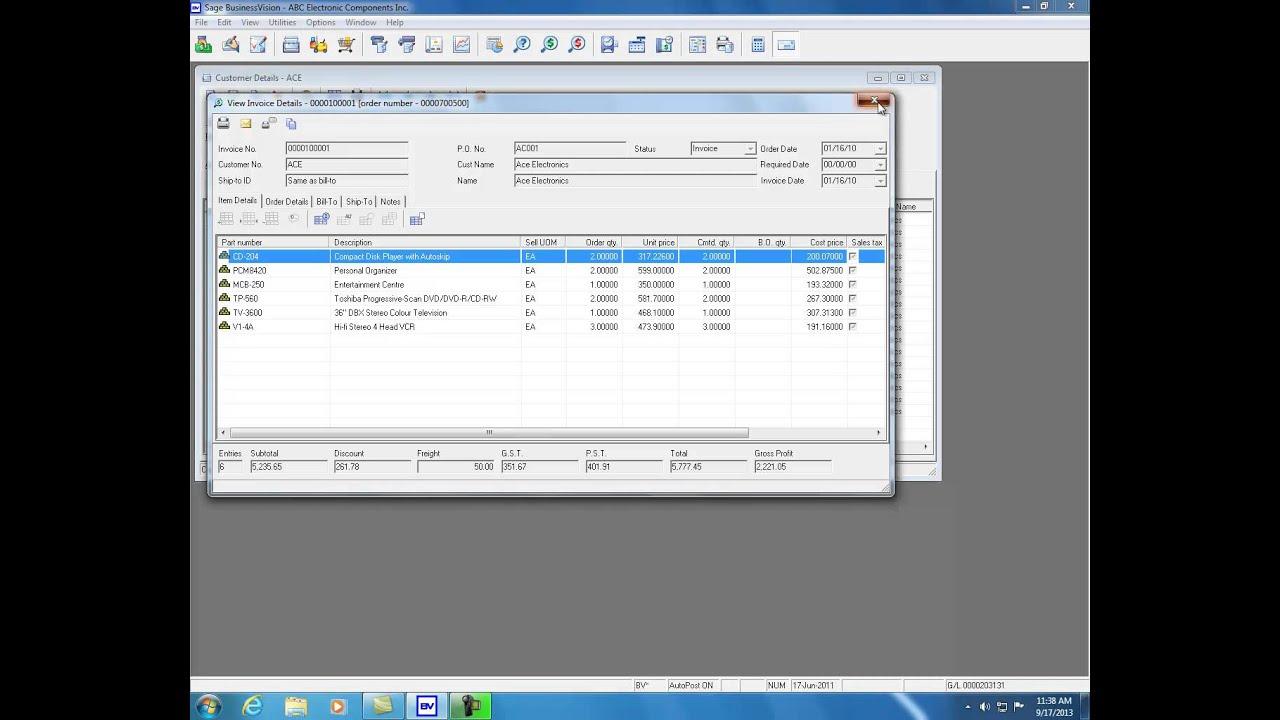 Sage BusinessVision Accounting | Sage Canada