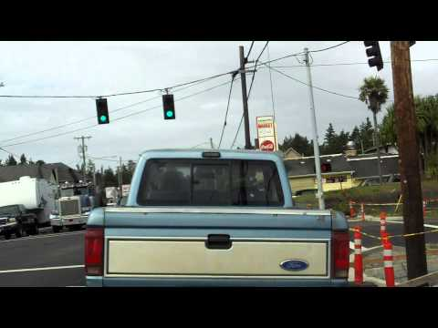 Oregon's US 101: Bandon, Coos Bay, North Bend, Reedsport Time Lapse Drive