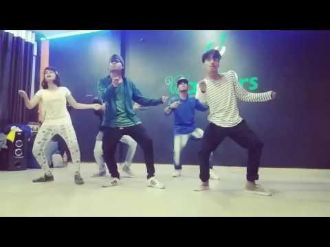 Kadi Aao Ni(Coke Studio)-Dancing Showcase RahulBeatPort Workshop Dec2016