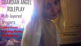 ●GUARDIAN ANGEL ROLEPLAY (¯`v´¯)● Multi-Layered/ 10 TRIGGERS● (Kiss/Scratching/Tapping/Humming...)