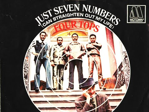 the four tops just seven numbers can straighten out my life