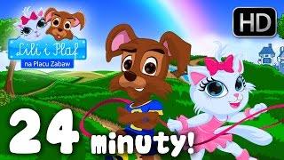 WSZYSTKIE PIOSENKI LILI I PLAF - 24 minuty piosenek dla dzieci HD Dziecięce hity!