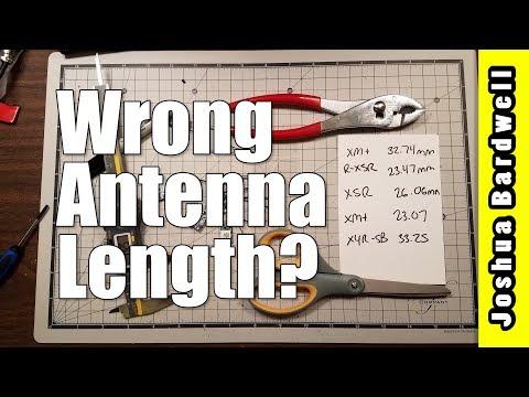 Range Test FrSky RX | WRONG ANTENNA LENGTH? - YouTube