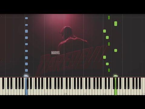 Daredevil  Main Theme  Piano Synthesia
