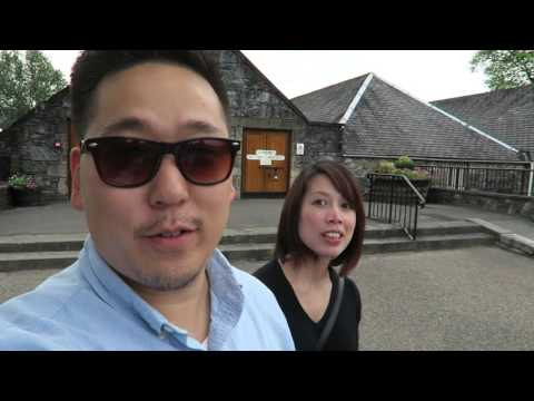 Foolish Americans try Scotch whisky and local snacks in Scotland