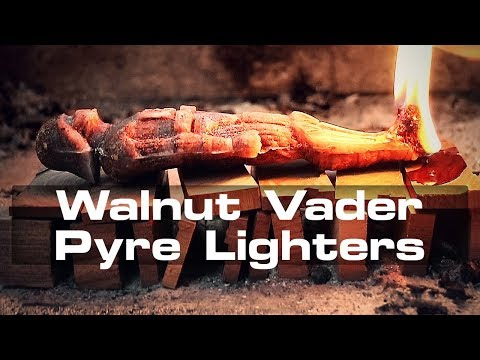Darth Vader Pyre Lighters From Wax And Walnut