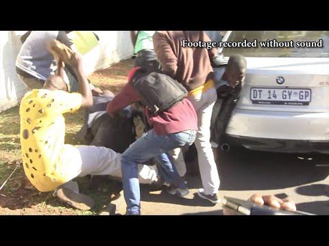 'Mugabe agent' beaten with bricks during Zim march in Pretoria